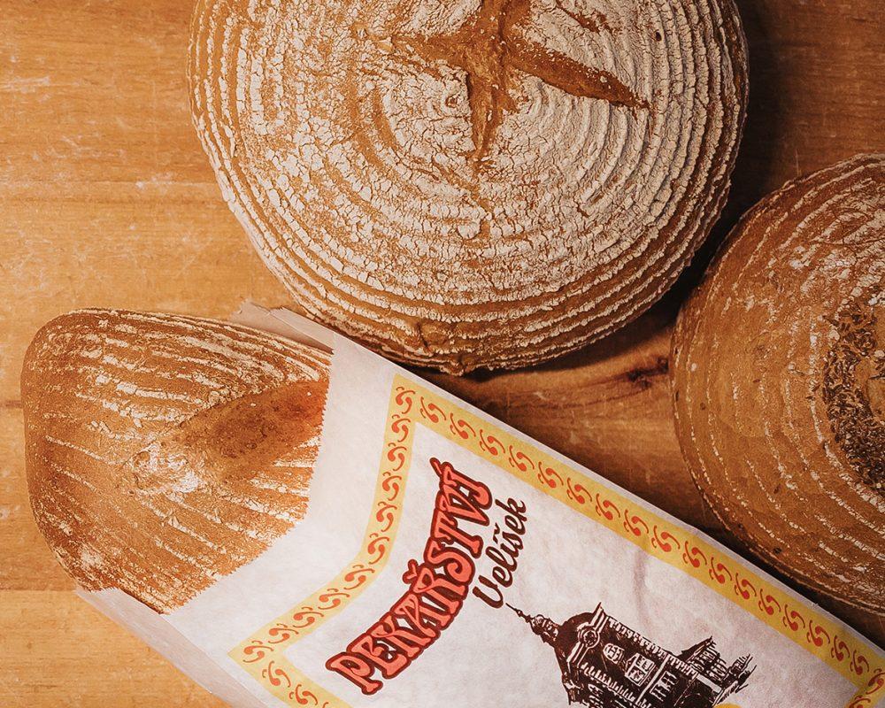 tradiční české chleby