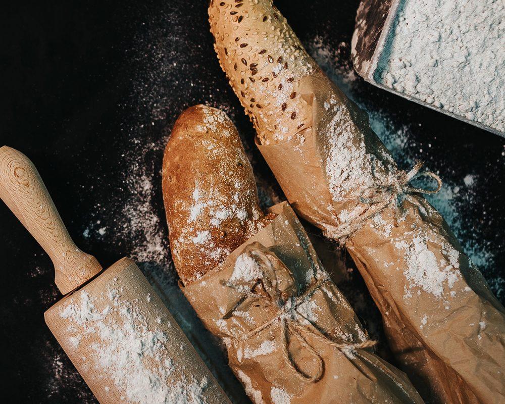 tradiční vícezrnné pečivo